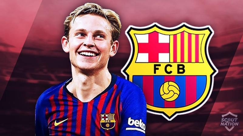 FRENKIE DE JONG - Welcome to Barcelona - Genius Skills, Passes Assists - 2018/2019 (HD)