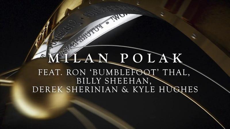 Milan Polak The Future Is Now! feat. Billy Sheehan Derek Sherinian Ron Thal Kyle Hughes
