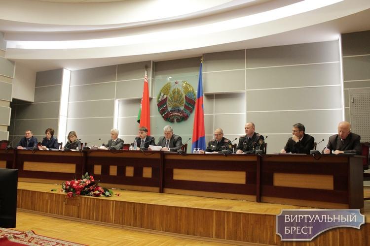 В Бресте провели совместное заседание комиссии по делам несовершеннолетних
