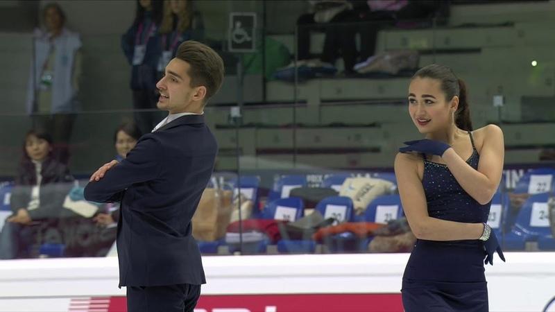 Елизавета Худайбердиева Андрей Филатов Ритм танец Юниоры Финал Гран при по фигурному катанию 2019