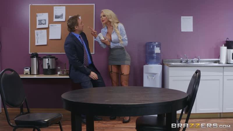 Brazzers Water Cooler Cock Nicolette Shea Tyler Nixon BTAW Big Tits At Work September 14 2019