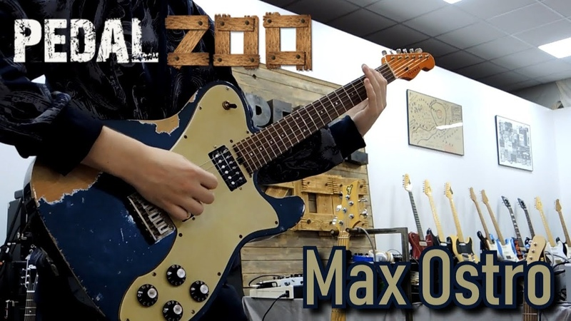 Max Ostro Live at PedalZoo booth Trueman Supro Xotic Friedman guitars NAMM Russia 2019