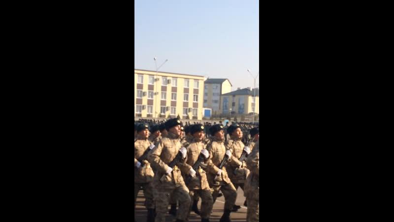 Бакытжан в армии
