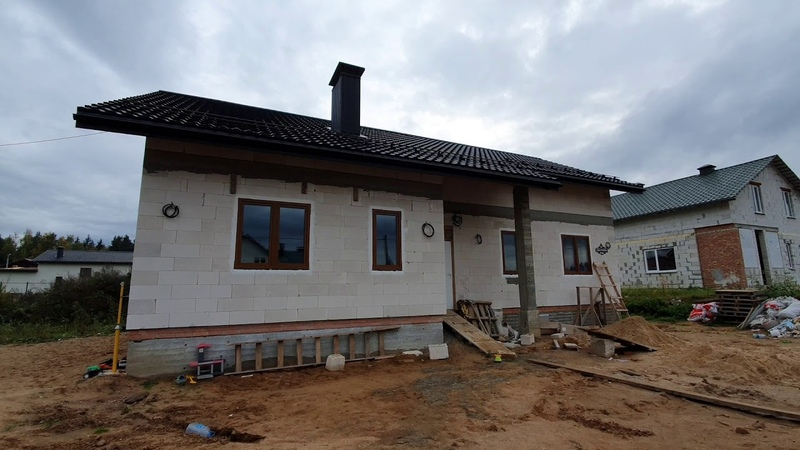 Остекление дома окнами KBE 76 c двухсторонней ламинацией. Окна в мир.
