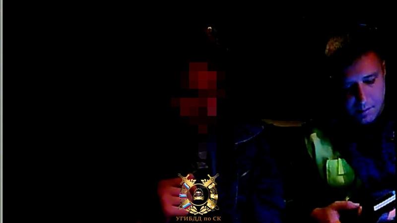 Пьяный водитель в Изобильненском округе пытался скрыться от автоинспекторов