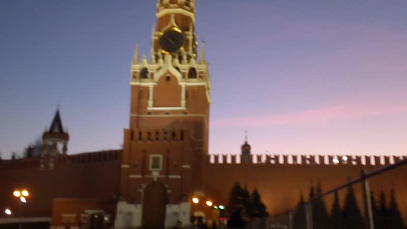 На Красной Площади (перед концертом 14.11.19)