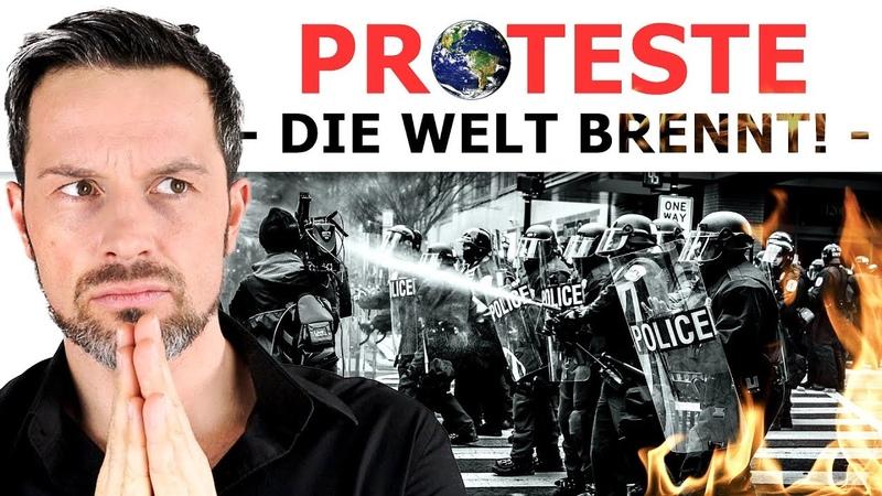 Globale Massenproteste gegen Eliten, Politik, Korruption!
