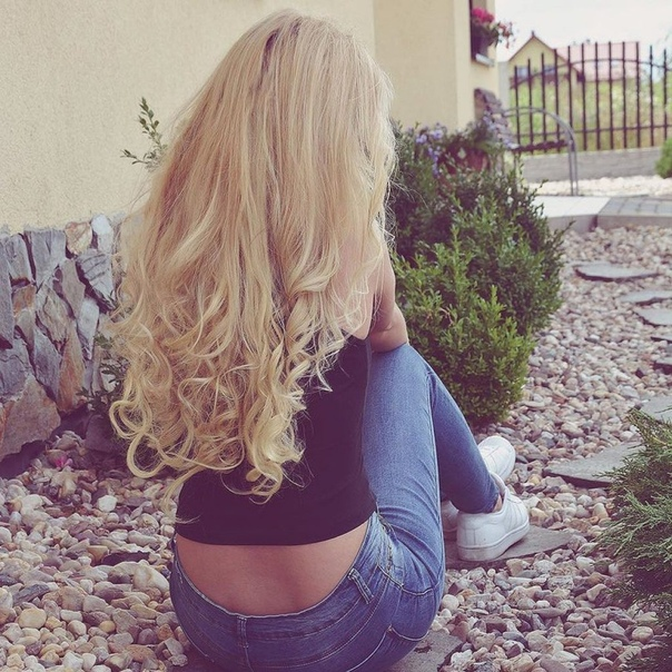 Картинки девушек блондинки без лица