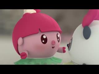Малышарики - Обучающий мультик для малышей - Все серии про Нюшеньку   -  сборник