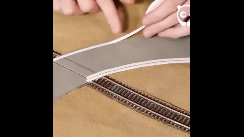 Making a model railroad scenery   Перевод: Делая модель железная дорога пейзаж