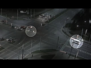 Маршрутка попала в ДТП на ул. Московской в Бресте
