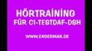 Hörtraining für C1-TestDaF-DSH | Hörverstehen für Oberstufe 5