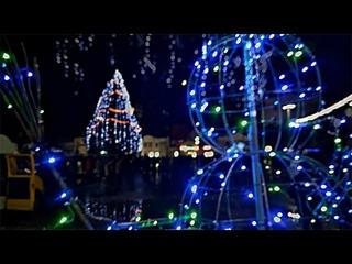 В Жуковке продолжается ночное новогоднее гуляние