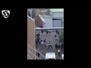Hooligans fight _ hif vs dif ( hammarby if v kalmar ff )