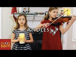 CANDLES on Violin Live Performance!