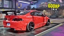 Need for Speed Heat Gameplay - 600HP ACURA RSX-S Customization   Max Build