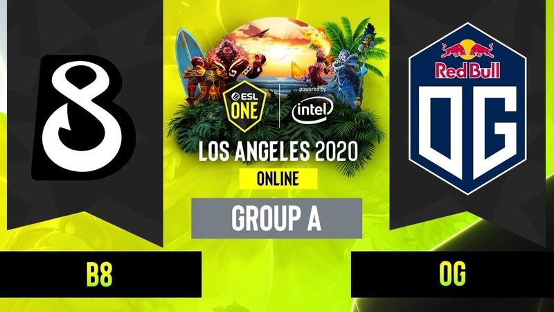 Dota2 - OG vs. B8 - Game 1 - Group A - EUCIS - ESL One Los Angeles