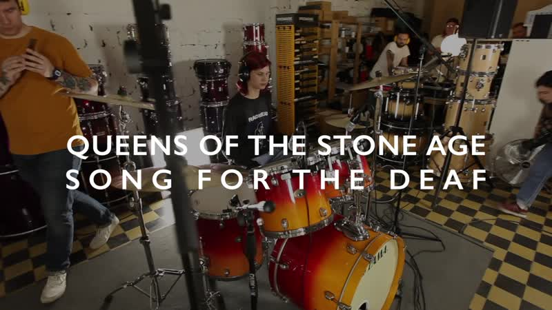 Queens of the Stone Age - Song for the Deaf (Drum Cover)