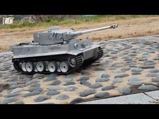RC TANK Mato Full Metal German Tiger в масштабе 1:8