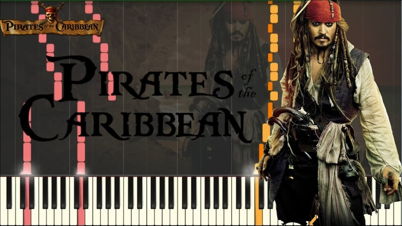 Pirates of the Caribbean Medley INTENSE VERSION [Piano Tutorial] (Synthesia) SHEETS/MIDI