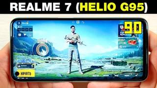 REALME 7 (HELIO G95)🔥 - В ИГРАХ 2020 ГОДА! БОЛЬШОЙ ТЕСТ ИГР С FPS!+ НАГРЕВ   GAMING TEST