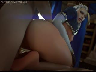 Jaina proudmoore (fpsblyck) [world of warcraft] 3d porno r34