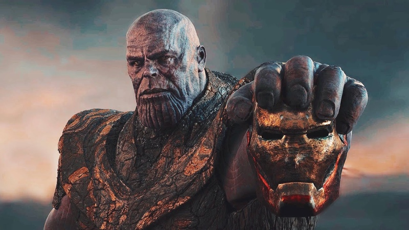 What If Avengers Endgame Had A Dark Ending IRON MAN vs THANOS Fight Scene
