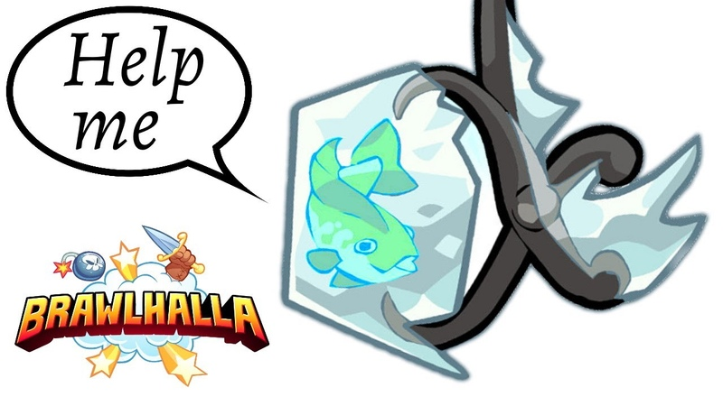 My weapon is a frozen fish hammer • Brawlhalla 1v1