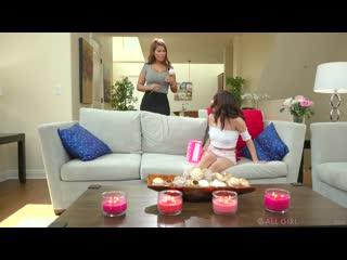 Bridgette B, Isabella Nice - Mommy's Achy Boobs [FantasyMassage] Lesbian, Teen, MILF