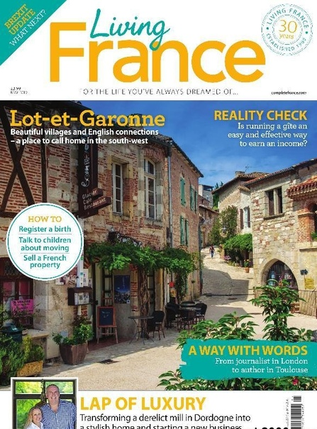 Book cover 2019-05-01 Living France