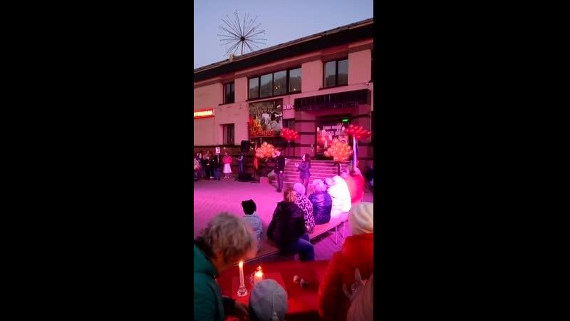 Акция Площадь свечей и концерт в честь 9мая.