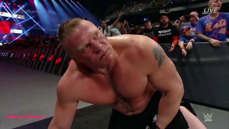 Выступления Голдберга WWE Royal Rumble