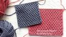 КЛАССНЫЙ ПРОСТОЙ УЗОР ДЛЯ ШАРФА СВИТЕРА КАРДИГАНА Knitting simple pattern Double Moss Stitch