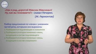 Русский язык 8 класс  Синтаксический и пунктуационный разборы предложений с чужой речью
