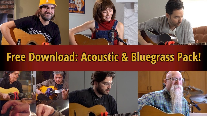 Free Download - Acoustic and Bluegrass Sampler Pack!