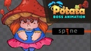 Fat witch animation timelapse ( Spine 2d )