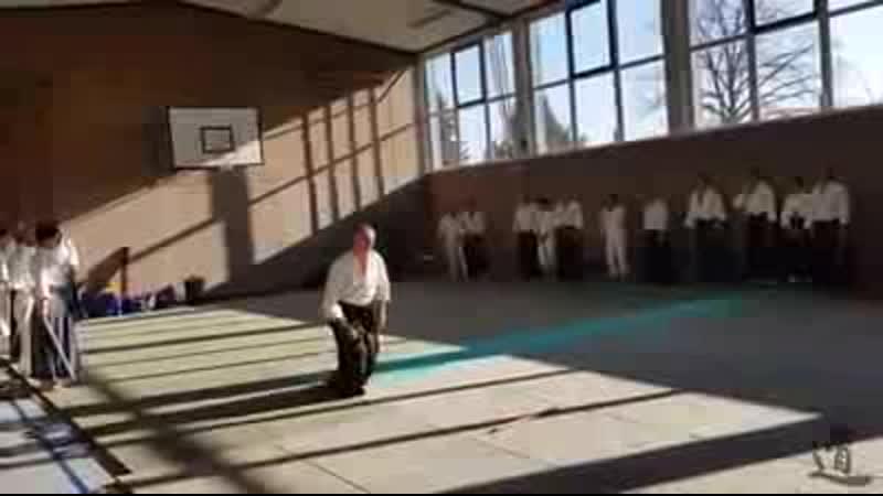 Ukemi with bokken - various solo and... - Takemusu Aikido Motril