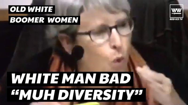 Liberal White Woman Tells White Men They Don't Get To Have An Opinion On Diversity