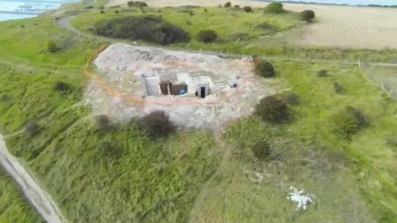 National Trust - Fan Bay Deep Shelter Project (HD Aerial)