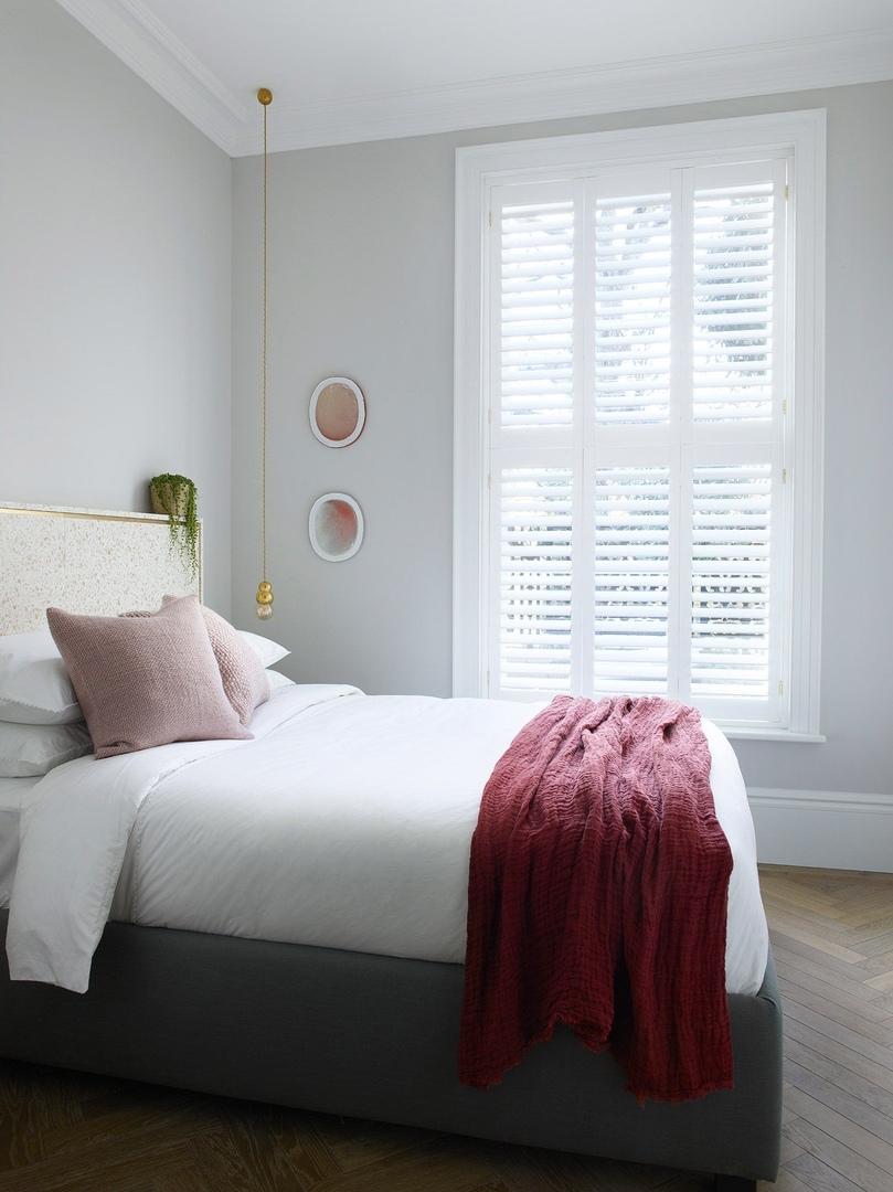 Светлая квартира с винтажем и искусством в Лондоне    02