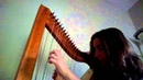Scarborough Fair on 6/6 cross strung harp