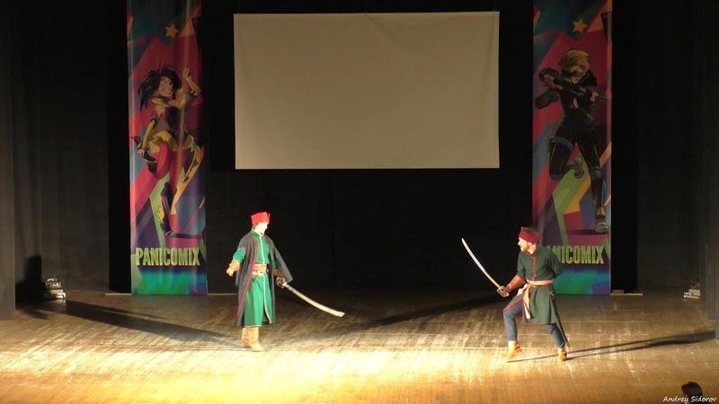 Выступление фехтовального клуба Бретер