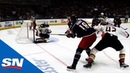Pierre Luc Dubois Scores From Insane Angle For His First Of The Season