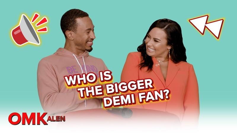 'OMKalen' Kalen Demi Lovato Play 'Who Is the Bigger Demi Fan '