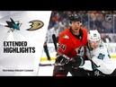 San Jose Sharks vs Anaheim Ducks   Oct.05, 2019   Game Highlights   NHL 2018/19   Обзор матча