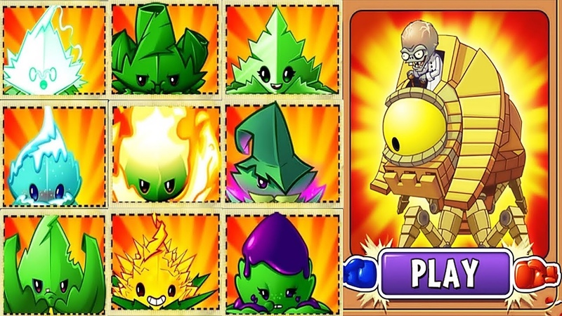 Plants vs Zombies 2 BattleZ: All Mint Pvz 2 Vs Zombot Sphinx-inator: Gameplay 2019