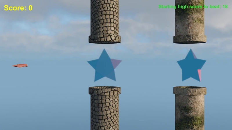 CRYENGINE V Simple Game Tutorial Flappy Boid