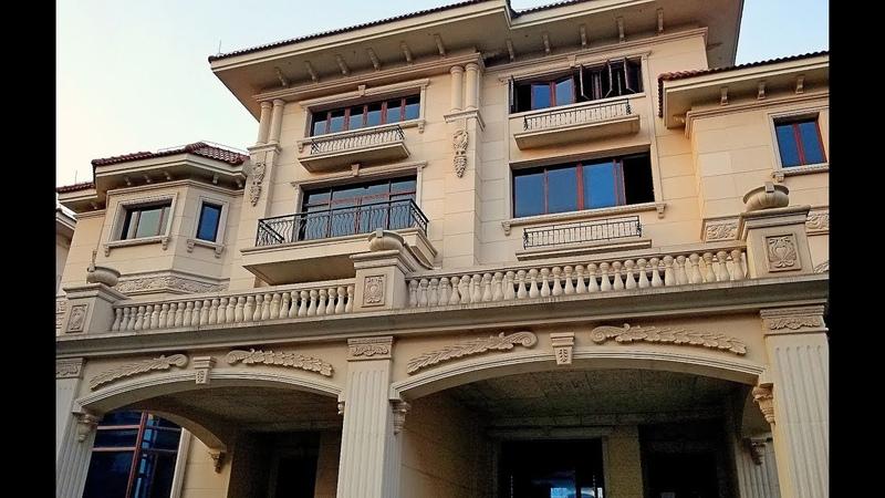 Заброшенные Коттеджи и Виллы В Китае Гуанчжоу Фошань дома в которых не живут Китайцы
