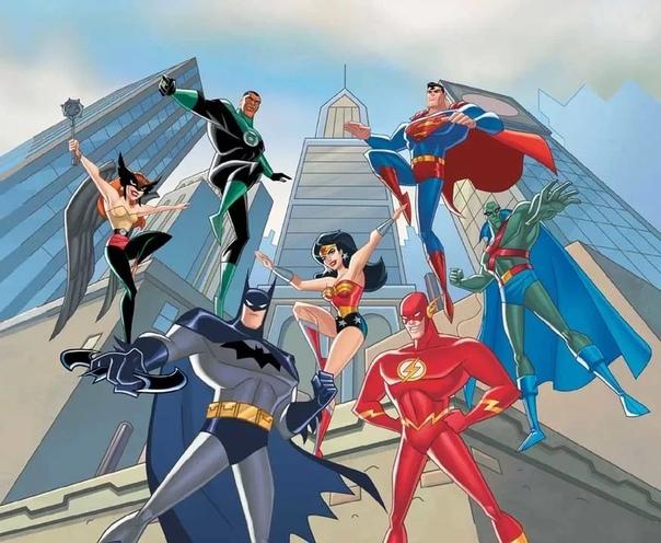 justice league cartoon - 960×720