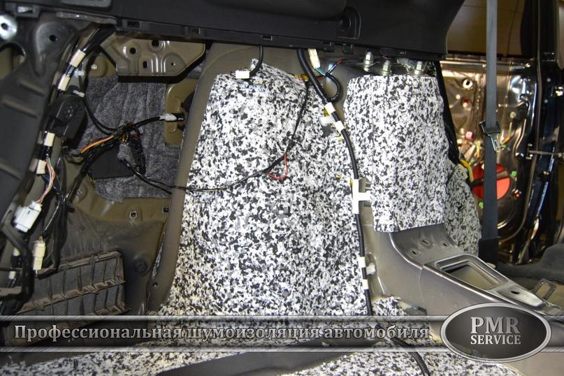 Шумоизоляция Toyota Venza, изображение №16